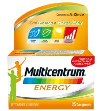 MULTICENTRUM ENERGY 25 COMPRESSE