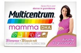 MULTICENTRUM MAMMA DHA 30 COMPRESSE + 30 CAPSULE MOLLI