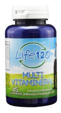 MULTIVITAMINERAL LIFE 120 45 COMPRESSE