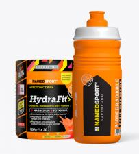 NAMED SPORT HYDRAFIT IPOTONIC DRINK 400g + Borraccia omaggio