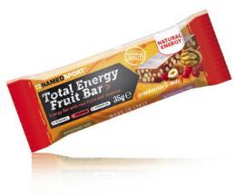 NAMED SPORT TOTAL ENERGY FRUIT BAR CRANBERRIES NUTS