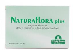 NATURAFLORA PLUS FERMENTI PROBIOTICI 60 CAPSULE