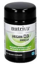 NUTRIVA VEGAN D3 2000UI 60 COMPRESSE