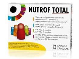 NUTROF TOTAL - INTEGRATORE ALIMENTARE PER LA VISIONE - 30 CAPSULE