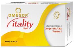 OMEGOR VITALITY 1000 INTEGRATORE ALIMENTARE OMEGA 3 EPA DHA 30 PERLE