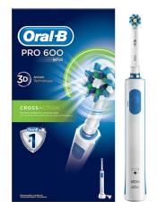 ORAL B PRO 600 3D CROSSACTION