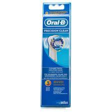 ORAL B testina di ricambio PRECISION CLEAN 3 pezzi