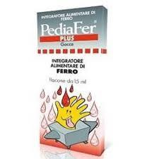 PEDIAFER PLUS GOCCE INTEGRATORE ALIMENTARE DI FERRO - 15 ML
