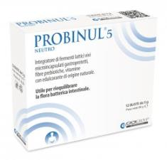 PROBINUL 5 Integratore di fermenti lattici vivi microincapsulati 12 BUSTE