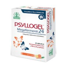 PSYLLOGEL MEGAFERMENTI - INTEGRATORE ALIMENTARE GUSTO ACE - 12 BUSTINE