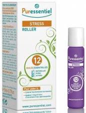 PURESSENTIEL SOS STRESS ROLLER AI 12 OLI ESSENZIALI - 5 ML