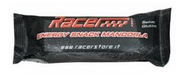 RACER ENERGY SNACK MANDORLA barretta energetica 5 pezzi