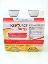 RESOURCE ENERGY - GUSTO VANIGLIA - 4 FLACONI DA 200 ML