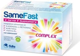 SAMEFAST UP INTEGRATORE ALIMENTARE FAVORISCE IL TONO DELL'UMORE 20 COMPRESSE GUSTO LIME