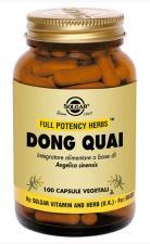 SOLGAR DONG QUAI 100 CAPSULE