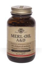 SOLGAR MERL-OIL A & D OLIO DI FEGATO DI MERZLUZZO 100 PERLE