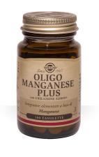 SOLGAR OLIGO MANGANESE PLUS 100 TAVOLETTE