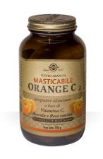SOLGAR ORANGE C VITAMINA C MASTICABILE 90 TAVOLETTE