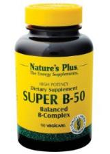 SUPER B50 Nature's Plus 60 Capsule