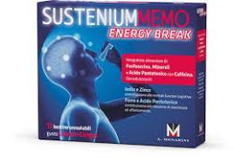 SUSTENIUM MEMO ENERGY BREAK - INTEGRATORE ALIMENTARE - 12 BUSTINE OROSOLUBILI