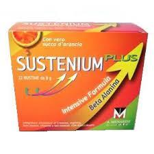SUSTENIUM PLUS - INTEGRATORE ALIMENTARE - 12 BUSTINE DA 8 G