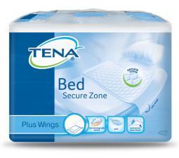 TENA BED SECURE ZONE PLUS WINGS 180 X 80