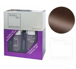 TRIKKO TEX STARTER KIT 60ml SPRAY + 10g POLVERE 2 DARK BROWN