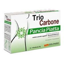 TRIO CARBONE PANCIA PIATTA 10+10 bustine da 2g