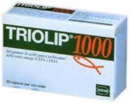 TRIOLIP 1000 30 capsule