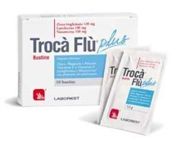 TROCA FLU PLUS INTEGRATORE ALIMENTARE - 10 BUSTINE DA 3,3 G