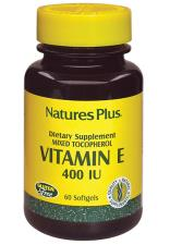 VITAMIN E NATURE'S PLUS 400 IU