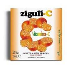 ZIGULI C SUCCO DI ARANCIA  40 PALLINE