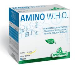 AMINO W.H.O. AMINOACIDI ESSENZIALI 20 BUSTINE