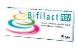 BIFILACT RSV FERMENTI LATTICI VIVI, ENDOSPORE E VITAMINE 14 FLACONCINI