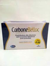 CARBONE BELLOC - INTEGRATORE ALIMENTARE DI CARBONE VEGETALE ATTIVO - 40 CAPSULE DA 500 MG