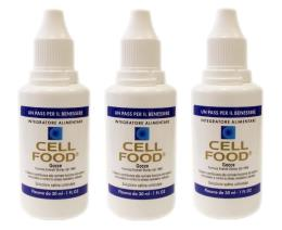 CELLFOOD 30ml gtt 3 confezioni offerta Formula Everett Storey