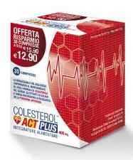 COLESTEROL ACT PLUS 30 COMPRESSE