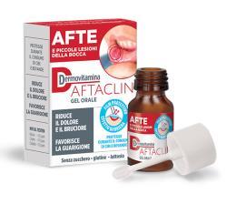 DERMOVITAMINA AFTACLIN GEL ORALE 7 ml