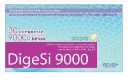 DIGESI 9000 INTEGRATORE ALIMENTARE A BASE DI LATTASI 30 COMPRESSE