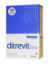 DITREVIT FORTE INTEGRATORE DI VITAMINA D E DHA 15ml