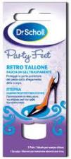 DR SCHOLL PARTY FEET RETRO TALLONE FASCIA IN GEL TRASPARENTE