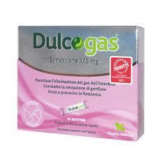 DULCOGAS - INTEGRATORE PER L'ELIMINAZIONE DEI GAS INTESTINALI - 18 BUSTINE