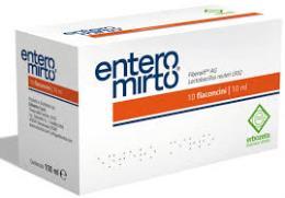 ENTERO MIRTO INTEGRATORE ALIMENTARE - 10 FLACONCINI DA 10 ML