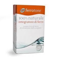 FERROTONE  - INTEGRATORE DI FERRO - 14 BUSTINE MONODOSE DA 20 ML
