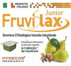 FRUVISLAX JUNIOR Favorisce il fisiologico transito intestinale 8 Cubogel