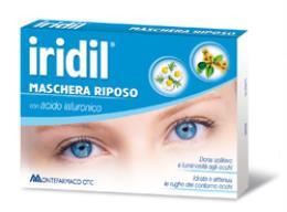 IRIDIL - MASCHERA RIPOSO con acido ialuronico