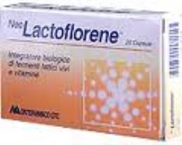 LACTOFLORENE 20 capsule gastroresistenti