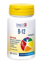 LONGLIFE B12 SUBLINGUALE 50 TAVOLETTE
