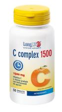 LONGLIFE C COMPLEX 1500 vitamina C a rilascio graduato 50 tavolette