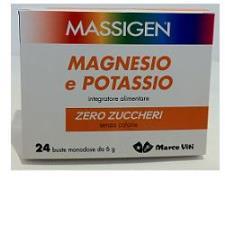 Massigen Magnesio Potassio S/Z 24 Buste